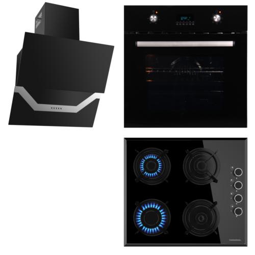 Termikel Black Pearl 3Lü Ankastre Set (Bo 6621 Bl - 17152 B604L - Tıgrıs Bb60)
