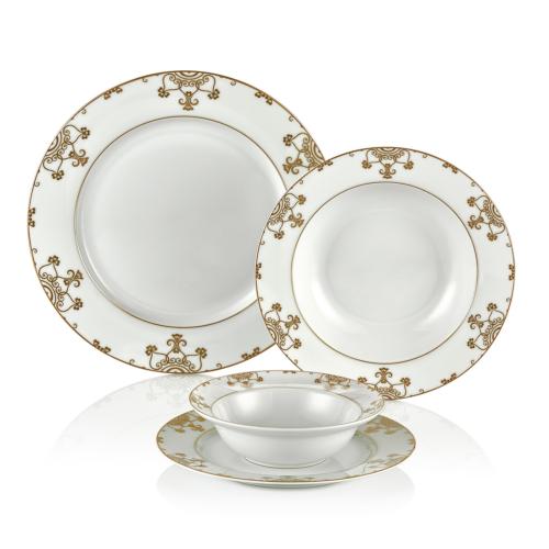 Goldmaster 97 Parça Orlena Fine Porselen Yemek Takımı