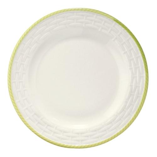 Naturaceram Hasır Yeşil Fileli Pasta Tabağı