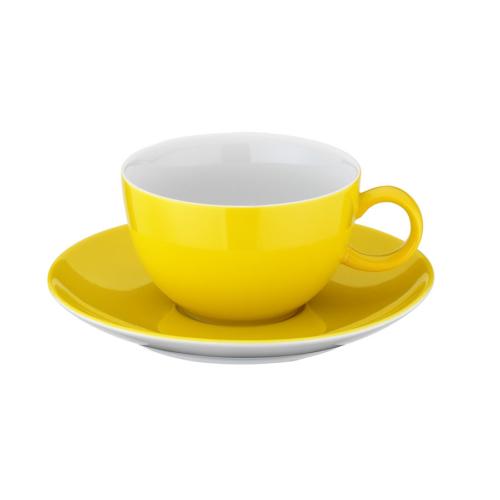 Kütahya Porselen 12 Parça Çay Takımı Sarı