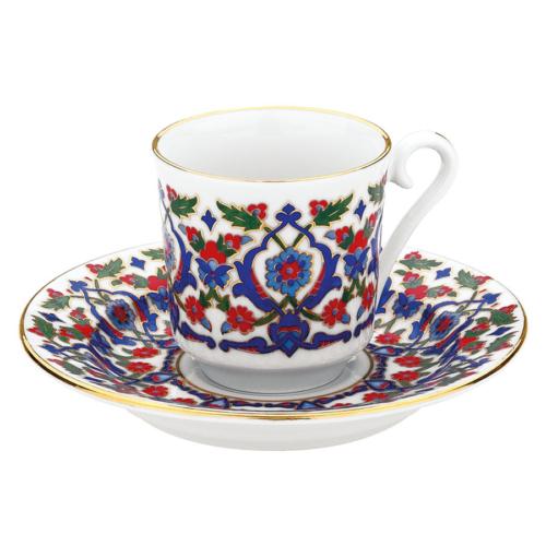 Kütahya Porselen 3643 Desen Kahve Fincan Takımı