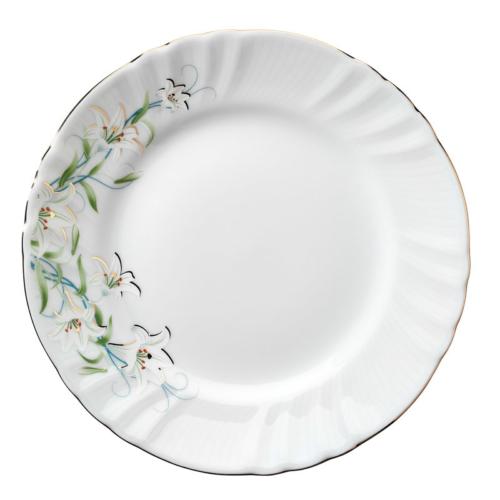 Kütahya Porselen Diana Çiçekli Servis Tabağı