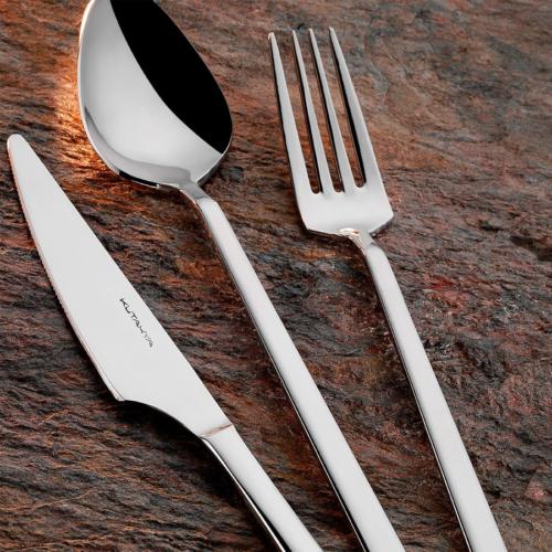 Kütahya Porselen Harmony Sade 89 Parça Çatal Bıçak Takımı