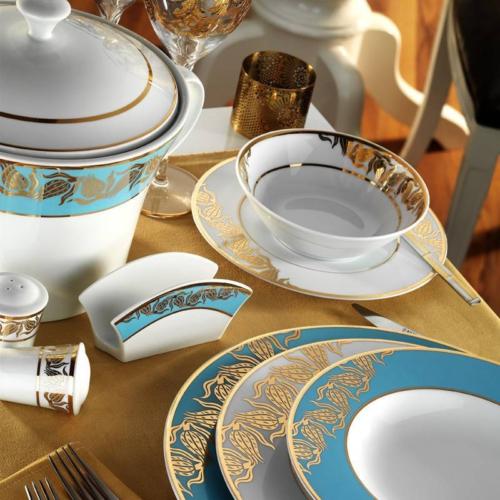 Kütahya Porselen İris 97 Parça 6589 Desen Yemek Takımı