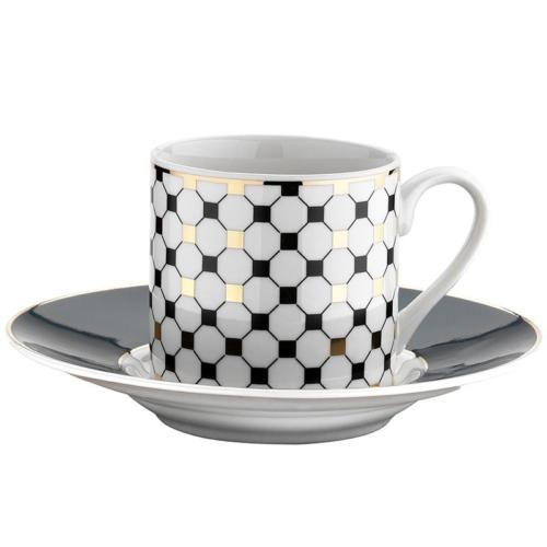 Kütahya Porselen Rüya Krem 9712 Desen Kahve Fincan Takımı