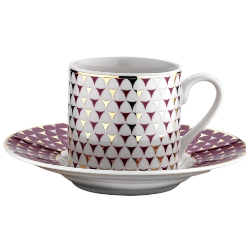 Kütahya Porselen Rüya 77512 Desen Kahve Fincan Takımı