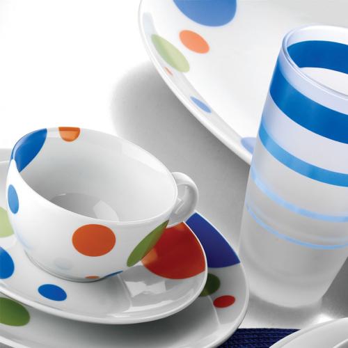 Kütahya Porselen Zeugma 12 Parça 46381 Desen Kahve Takımı