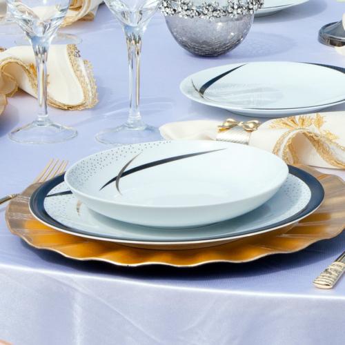 Kütahya Porselen Zeugma 85 Parça 4769 Desen Yemek Takımı