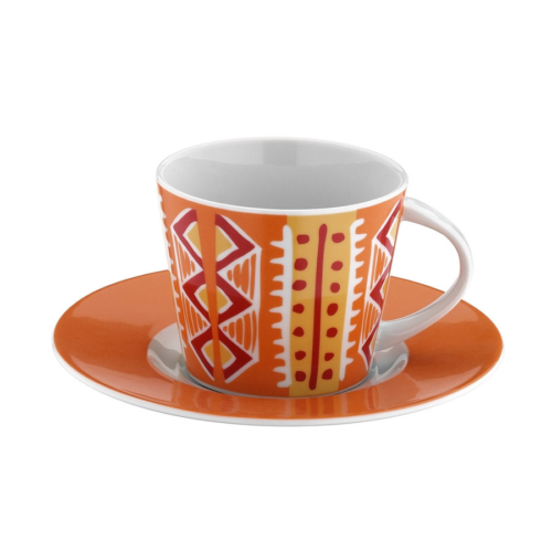 Mitterteich 86604 Desen Kahve Fincanı Ve Tabağı
