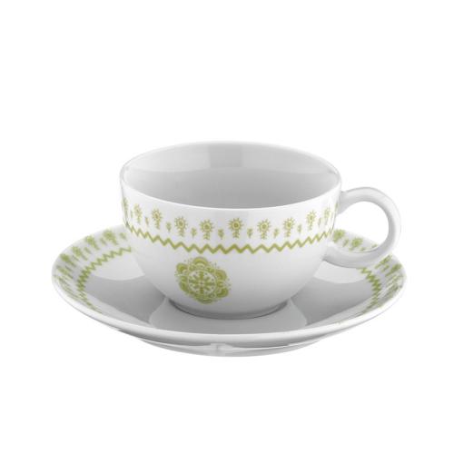 Mitterteich 86683 Desen Kahve Fincanı Ve Tabağı