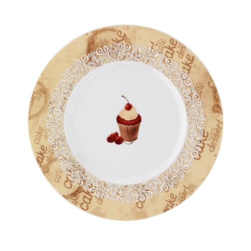 Mitterteich İris 8742 Desen Pasta Tabağı