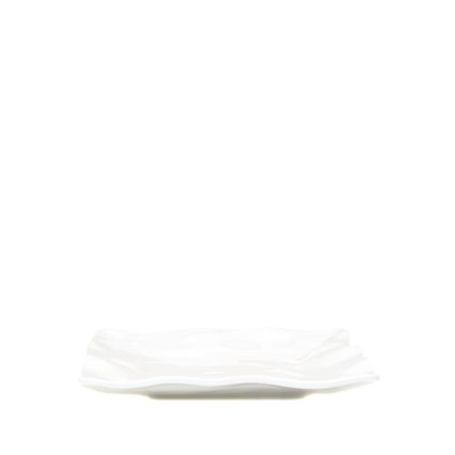 Beymen Home Q Squared Ruffle 19Cm Kare Servıs Beyaz Servis Tabağı