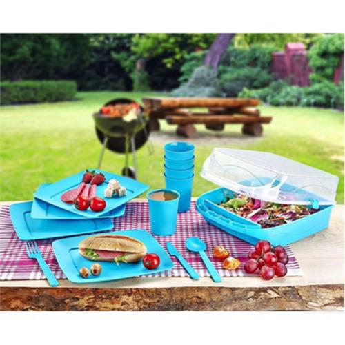 Bluezen 32 Parça Piknik Seti (6 Kişilik)