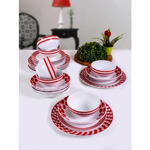 Keramika 24 Parça 6 Kişilik Alfa Renklerin Dansı 44 A Yemek Takımı 84,90 TL
