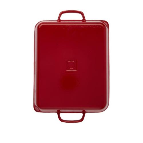 Hecha Grill Plate Hybrid Kırmızı 27X33