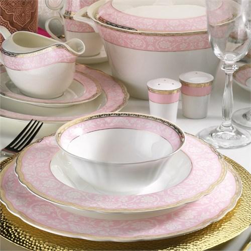 Kütahya Porselen Aspendos 84 Parça 25145 Desenli Yemek Takımı