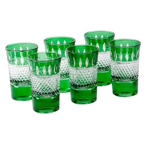 Altıncı Cadde Yeşil Shot Bardağı 6Lı