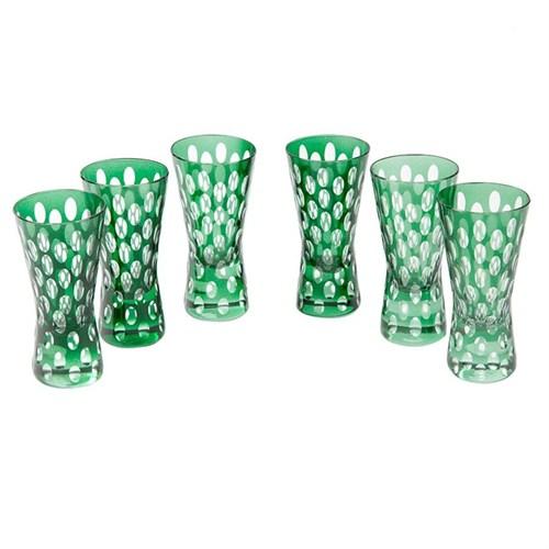 Altıncı Cadde Shot Bardağı Set 6Lı Yeşil