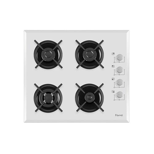 Ferre White Novara 3'Lü Ankastre Set ( BE10 LDG/1001 Beyaz Multifonksiyon Ankastre Fırın + 1140 CE WB Woklu Beyaz Ocak +