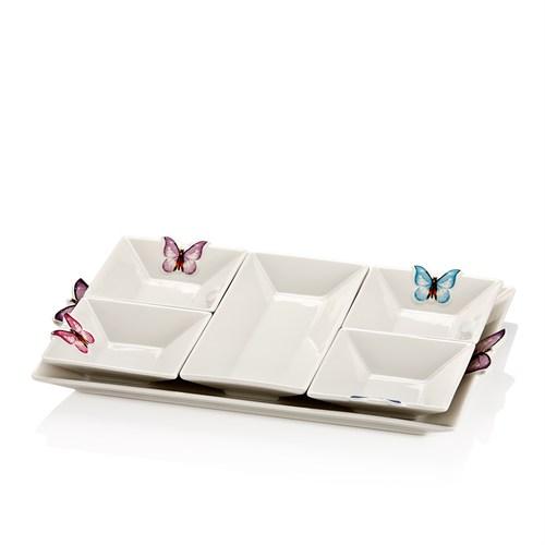 Taç Butterfly 6 Parça Kahvaltılık