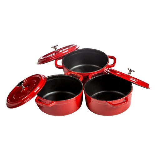 Hecha Mini Cocottes 12 Cm Kırmızı