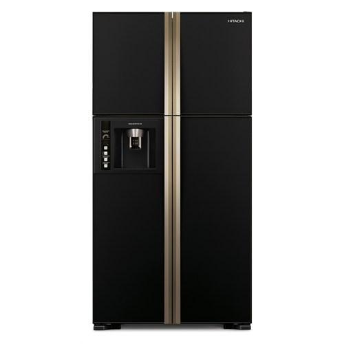 Hitachi Buzdolabı Siyah R-W660pru3 Gbk