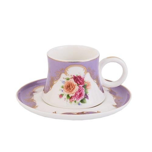Taç Royal Lady 6Lı Kahve Fincan Takımı