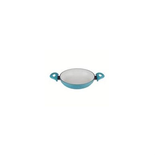Aksu Seramik Beyaz Yumurta Sahan 18Cm