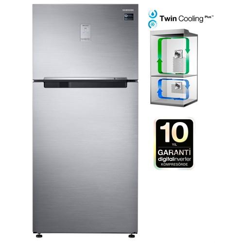 Samsung RT50K6200S8/TR A+ 516 Lt Twincooling Plus NoFrost Buzdolabı