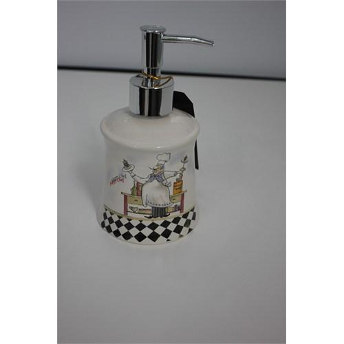 Yargıcı Porselen Seramik Sıvı Sabunluk