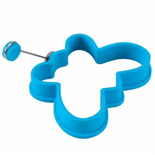 D-Sign Home Silikon Omlet Kelebek Krep Şekillendirici Mavi