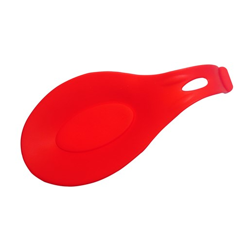 D-Sign Home Silikon Kepçe Altlığı Kırmızı
