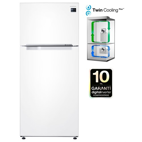 Samsung RT53K6030WW/TR A+ 543 Lt Twincooling Plus NoFrost Buzdolabı