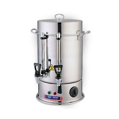 Reis Çay Makinesi 120 Bardak Metal Musluklu