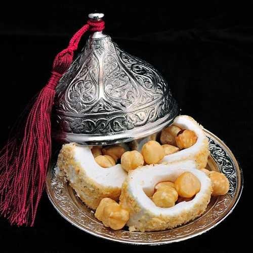 Uygun Osmanlı Motifli Kubbe Lokumluk Gümüş