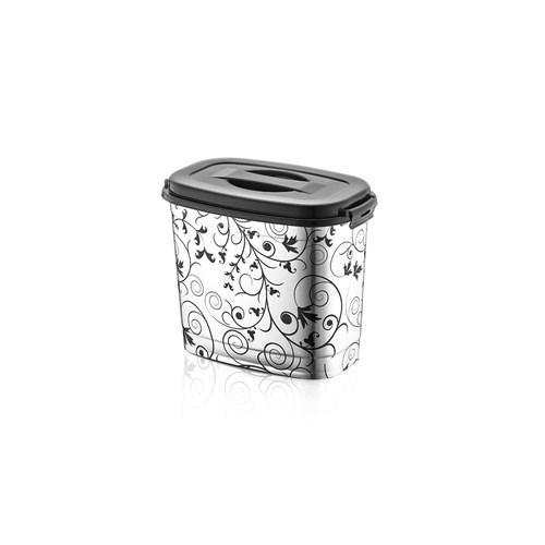 Alper Metalize Desenli Küçük Deterjanlık
