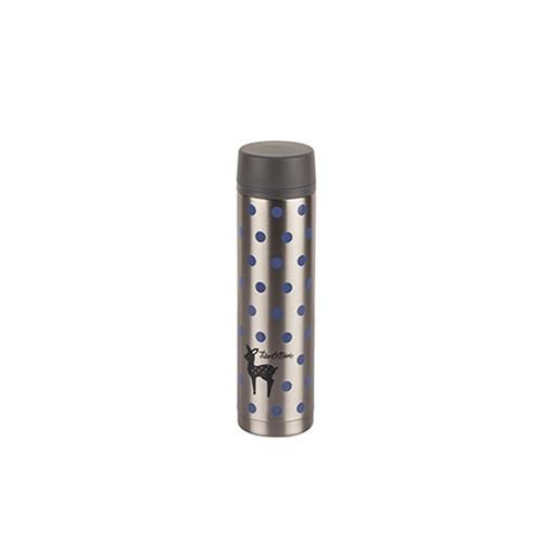 Tantitoni Puantiyeli Silver Paslanmaz Çelik Termos - 360Ml