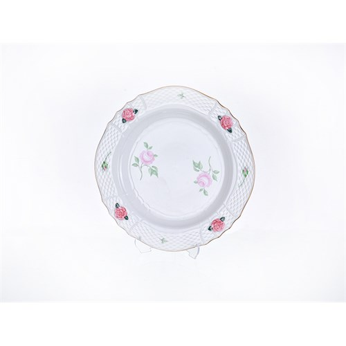 Lucky Art Rosella Pink Servis Tabağı