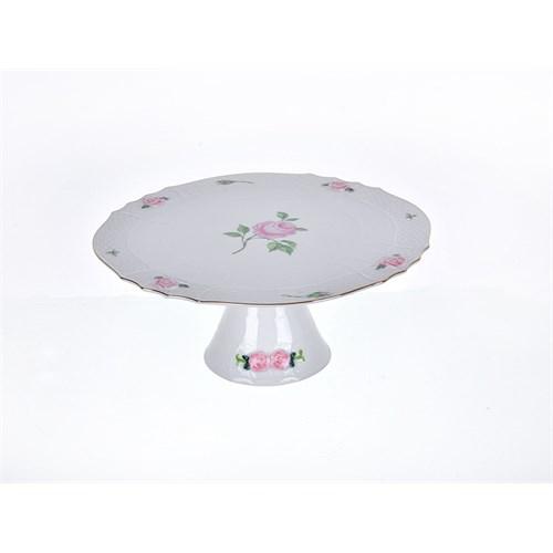 Lucky Art Rosella Pink Ayaklı Pasta Servis