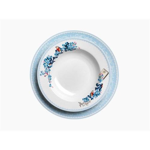 Korkmaz A8821 42 Parça Porselen Kahvaltı Seti