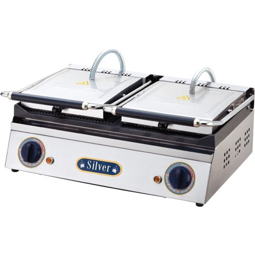 Silver 20 Dilim Çift Kapaklı Elektrikli Tost Makinesi