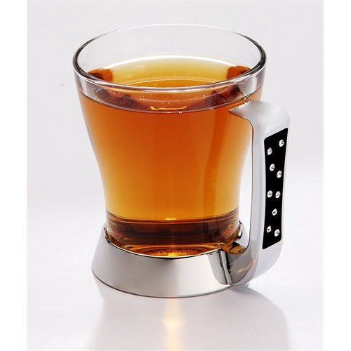 Mat Steel Çay Bardak Takımı 3'Lü
