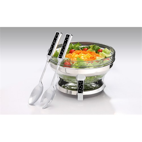 Mat Steel Salata Kabı Servis Takımlı
