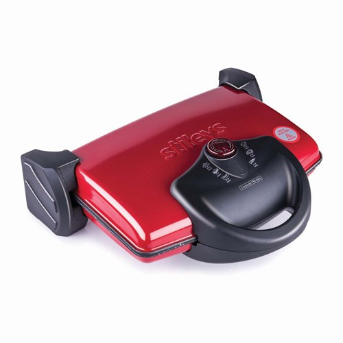 Stilevs Tostzade TM-060 Izgaralı Tost Makinesi Kırmızı