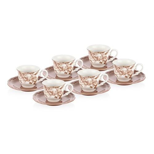 Laviva Vera 12'Li Çay Takımı - Vizon
