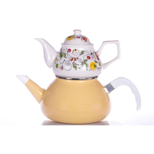 Evon Lale Çaydanlık - Sarı