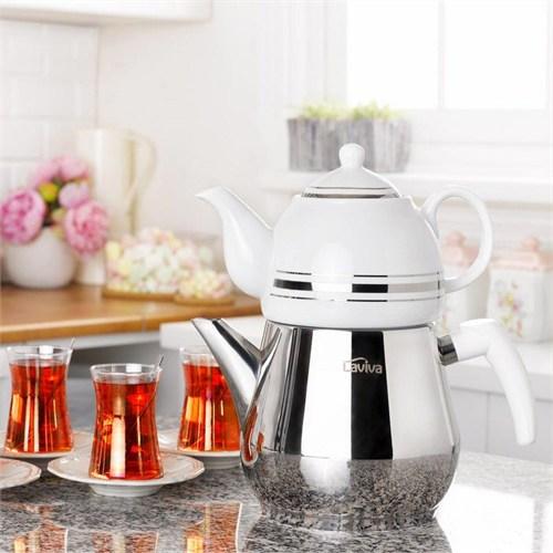 Laviva Platino Çaydanlık