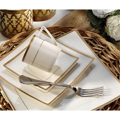 Aryıldız 30042 Royal Gold Queen Porselen Yemek Takımı