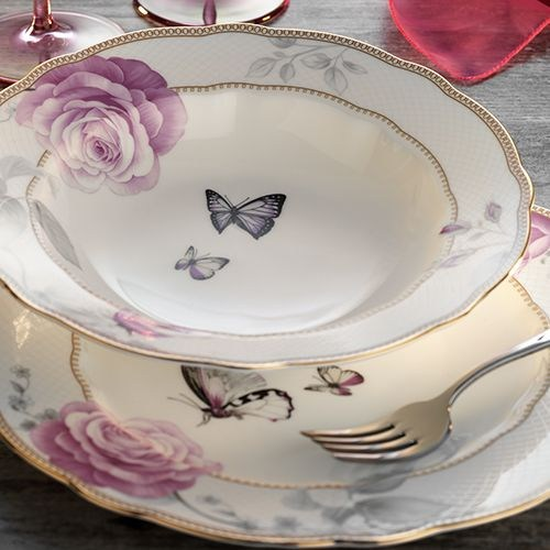 Aryıldız Ar30076 83 Parça Porselen Yemek Takımı