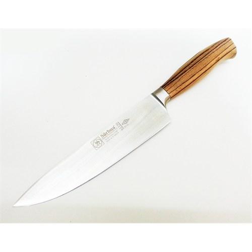 Sürmene Sürbısa Sıcak Dövme Çelik Şef Aşçı Bıçağı 21 Cm